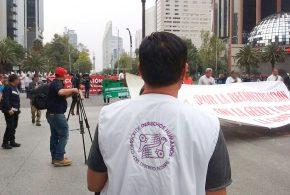 Galería: CDHDF acompaña marcha a un mes del 19S