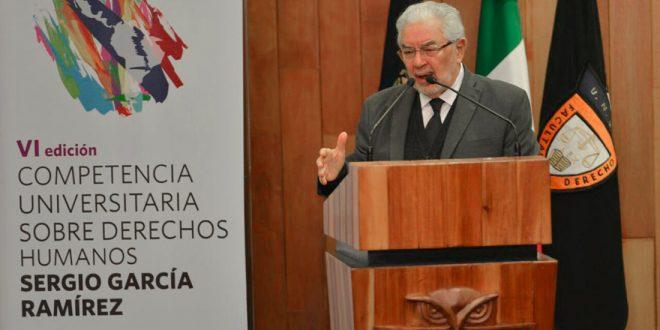 El porvenir de los derechos humanos y de la democracia está en juego: Doctor Sergio García Ramírez