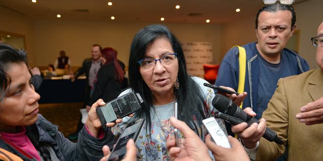 """Entrevista a la Presidenta de la CDHDF, Nashieli Ramírez Hernández, en el Segundo Seminario """"Pensamiento Latinoamericano sobre Derechos de la Infancia"""""""