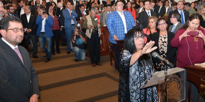 Galería: Toma de protesta a Nashieli Ramírez Hernández como Presidenta de la CDHDF