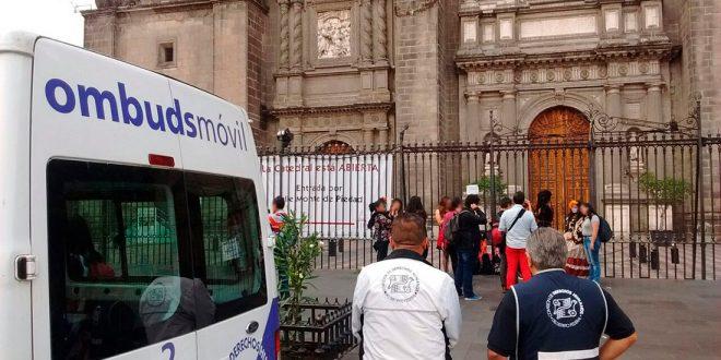 Galería: CDHDF acompaña la #MarchaDeLasCatrinas