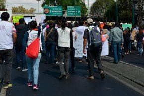 Galería: CDHDF acompañó marcha #2MesesDel19S