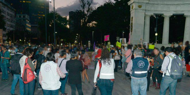 Galería: CDHDF acompañó marcha #JusticiaParaVictoria