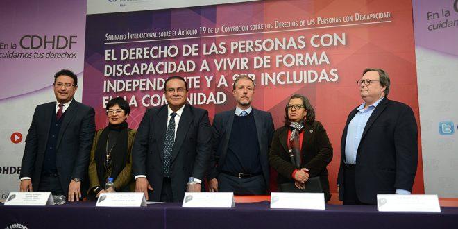 Galería: 1er. día de actividades Seminario Internacional El derecho de las PcD a vivir de forma independiente