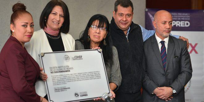 Galería: Firma de Convenio de Colaboración entre CDHDF y COPRED