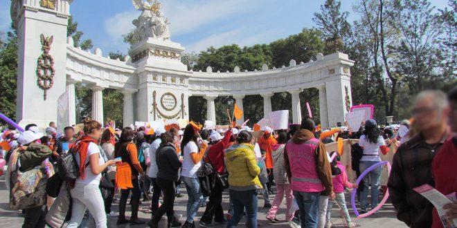 Galería: CDHDF acompaña marcha por el Respeto a la Dignidad de las Mujeres