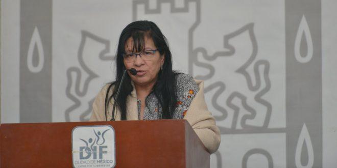 Palabras de la Presidenta de la CDHDF, Nashieli Ramírez Hernández, durante la inauguración del evento Bienestar Social y Derechos Humanos: un Balance de los Programas de la CDMX, organizado por DIF-CDMX