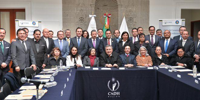 Galería: Firma del Convenio General de Colaboración entre Mecanismo Nacional de Prevención de la Tortura y los OPDH