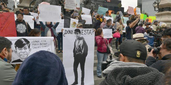 Galería: CDHDF acompaña concentración #MarcoAntonioSánchezFlores