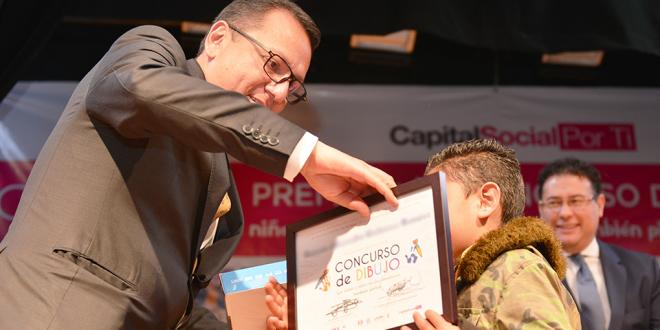 """Galería: Premiación Concurso de Dibujo Infantil """"Niñas y niños en los simulacros también pintan"""""""