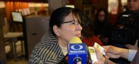 Entrevista a la Presidenta de la CDHDF, Nashieli Ramírez después de presentar la Controversia Constitucional ante la SCJN por la Ley de Seguridad Interior