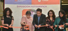 CDHDF inaugura exposición fotográfica en estación Salto del Agua del Metro