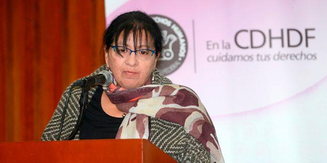 Palabras de la Presidenta de la CDHDF, Nashieli Ramírez Hernández, durante la inauguración del Seminario de Buenas Prácticas para Erradicar la Violencia contra Niñas, Niños y Adolescentes