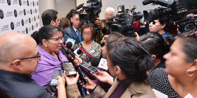 Entrevista a la Presidenta de la CDHDF, Nashieli Ramírez Hernández, en el Foro de análisis del Proyecto de Reglamentación a la Reforma Constitucional Laboral de 2017