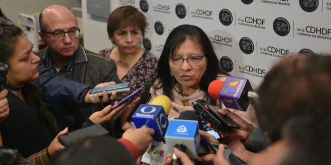 Entrevista a la Presidenta de la CDHDF, Nashieli Ramírez en el Foro Controversias sobre la Ley de Seguridad Interior