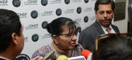 Entrevista a la Presidenta de la CDHDF, Nashieli Ramírez, al término de la Firma de Convenio entre INEE y CDHDF