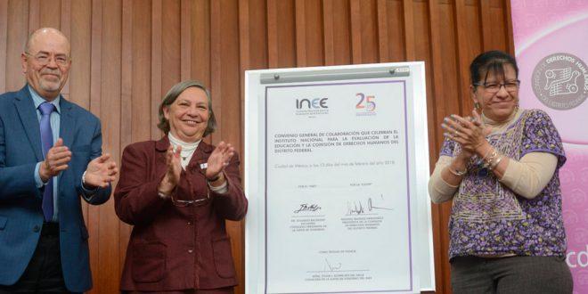 Galería: Firma de Convenio con el Instituto Nacional para la Evaluación de la Educación