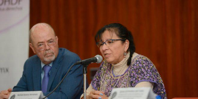 Palabras de la Presidenta de la CDHDF, Nashieli Ramírez Hernández, durante la Firma del Convenio Marco de Colaboración Institucional con el Instituto Nacional para la Evaluación de la Educación