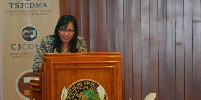 Palabras de la Presidenta de la CDHDF, Nashieli Ramírez Hernández, en la Firma de Convenio entre el Poder Judicial de la Ciudad de México, INMUJERES Ciudad de México, y Equis Justicia para las Mujeres.