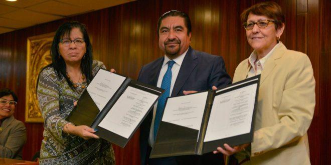 Galería: Firma de Convenio entre TSJCDMX, INMUJERESCDMX y Equis Justicia para las Mujeres