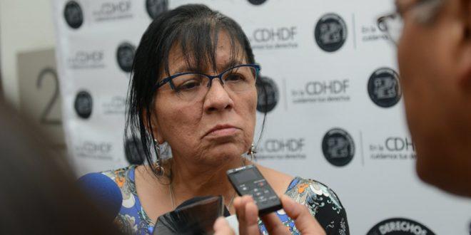 Entrevista a la Presidenta de la CDHDF, Nashieli Ramírez, al término de la entrega del Reconocimiento Hermila Galindo 2018
