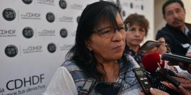 """Entrevista a la Presidenta de la CDHDF, Nashieli Ramírez Hernández, en la presentación del libro """"Programa Ring. Boxeando para la Reinserción"""""""