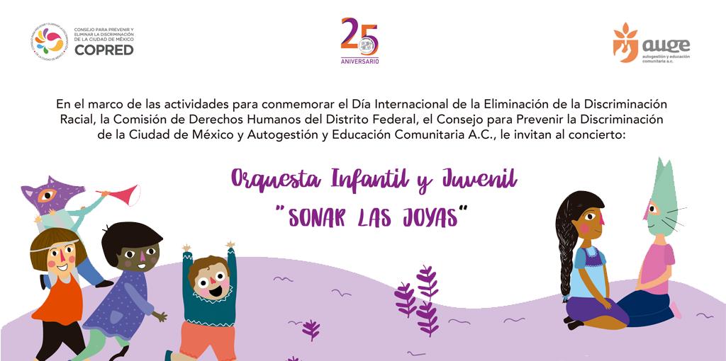 """Orquesta Infanti y Juvenil """"Sonar las Joyas"""" @ CDHDF"""