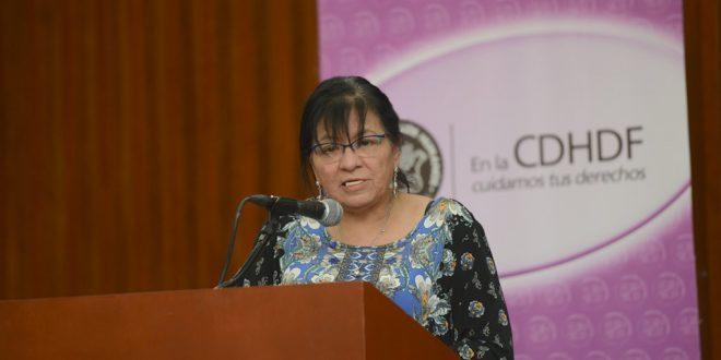Discurso de la Presidenta de la CDHDF, Nashieli Ramírez, en la entrega del Reconocimiento Hermila Galindo 2018