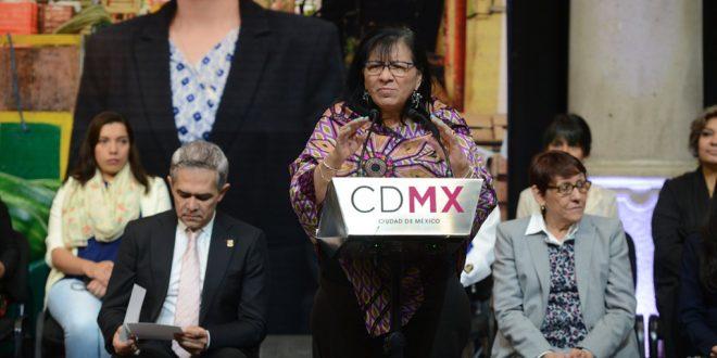 Discurso de la Presidenta de la CDHDF, Nashieli Ramírez Hernández, en la Conmemoración del Día Internacional de la Mujer