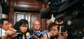 Transcripción de la entrevista  de la Presidenta de la CDHDF, Nashieli Ramírez Hernández, luego de presentar el Informe Anual 2017, ante el pleno de la Asamblea Legislativa del Distrito Federal