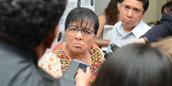 """Entrevista a la Presidenta de la CDHDF, Nashieli Ramírez Hernández, en la presentación del """"Manual para la Aplicación de la Ley General sobre Desaparición de Personas y el Protocolo Homologado de Búsqueda"""""""