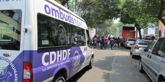 Galería: CDHDF acompañó movilización de estudiantes de la UACM