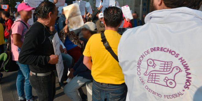 Galería: CDHDF monitorea concentración del Movimiento por los Derechos del Comerciante