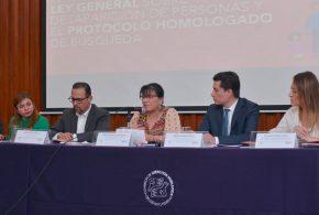 Galería: Presentación del manual para la aplicación de la Ley General sobre Desaparición de Personas y el Protocolo Homologado de Búsqueda