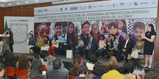 Galería: Seminario Hacia la Construcción del Programa de Protección Integral de Derechos de NNA de la CDMX