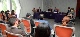 Sesión de preguntas y respuestas a Nasheli Ramírez Hernández, Presidenta de la CDHDF, durante la Firma de Convenio con la OEI