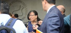 Entrevista a Nasheli Ramírez Hernández, Presidenta de la CDHDF, al término de la Firma de Convenio con la OEI
