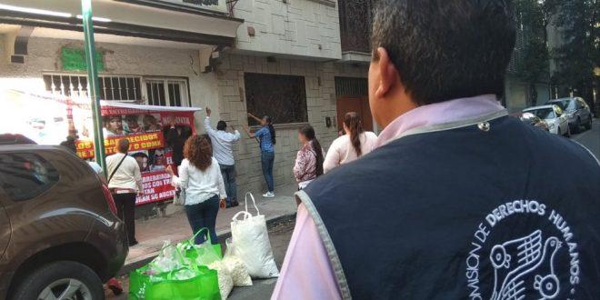 Galería: CDHDF acompañó acto de familiares a cinco años de los acontecimientos del Bar Heaven