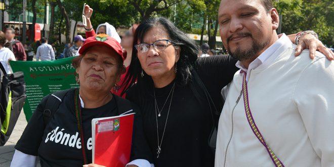Entrevista a la Presidenta de la CDHDF, Nashieli Ramírez Hernández, en la VII Marcha de la Dignidad Nacional
