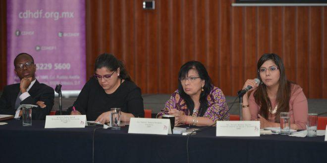 La CDHDF refuerza Programa de Atención a Personas Extranjeras en la Ciudad de México