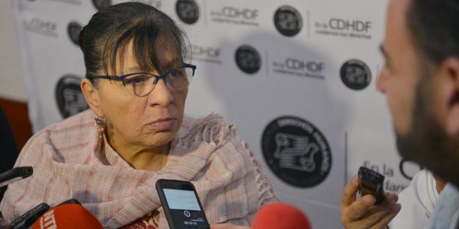 Entrevista a la Presidenta de la CDHDF, Nashieli Ramírez Hernández, en el Conversatorio Día Internacional de las Familias 2018