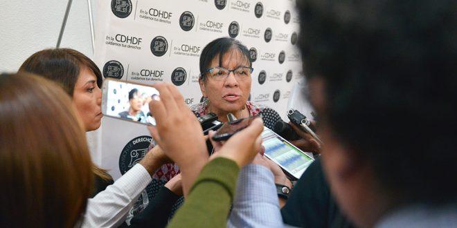 Entrevista a la Presidenta de la CDHDF, Nashieli Ramírez Hernández, en la publicación del Acuerdo por el que se expide el Protocolo Interinstitucional para Personas Adolescentes Detenidas y el Nuevo Acuerdo para Activación de Alerta AMBER de la Ciudad de México