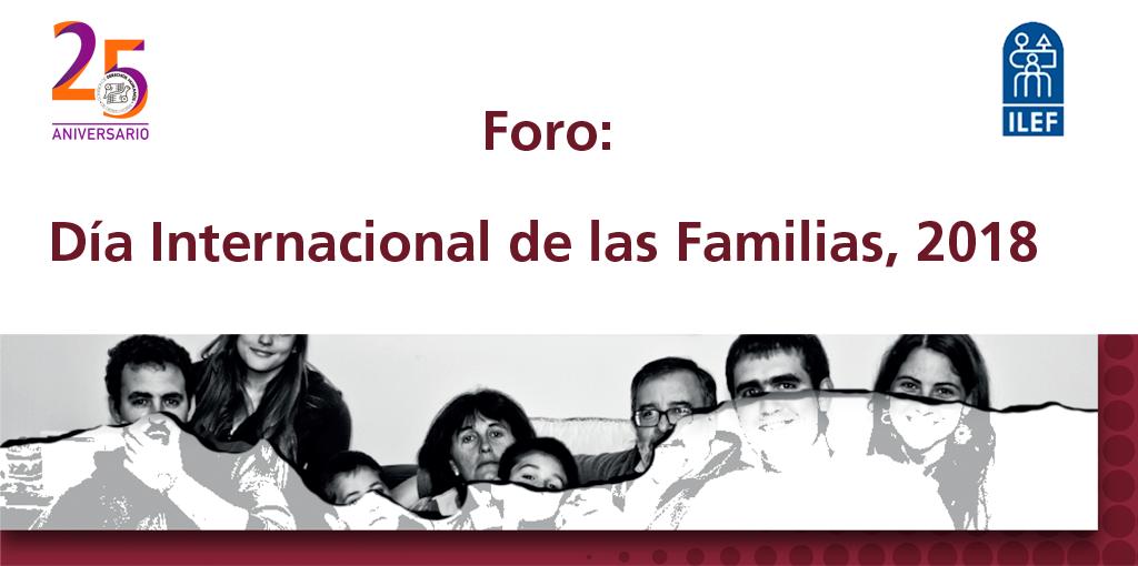 Foro Día Internacional de las Familias 2018. @ CDHDF