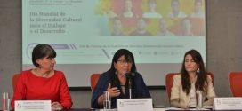 """Palabras de la Presidenta de la CDHDF, Nashieli Ramírez Hernández, en el lanzamiento de la Campaña """"La Diversidad Cultural Nos Enriquece""""."""