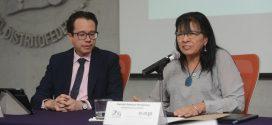 Palabras de la Presidenta de la CDHDF, Nashieli Ramírez Hernández, en la Firma del Convenio Marco de Colaboración con la Escuela de Administración Pública de la Ciudad de México.
