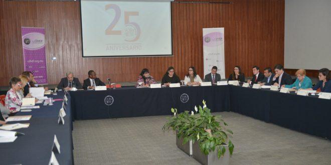 Palabras de la Presidenta de la CDHDF, Nashieli Ramírez Hernández, durante la presentación del Programa de Atención a Personas Extranjeras (PAE).