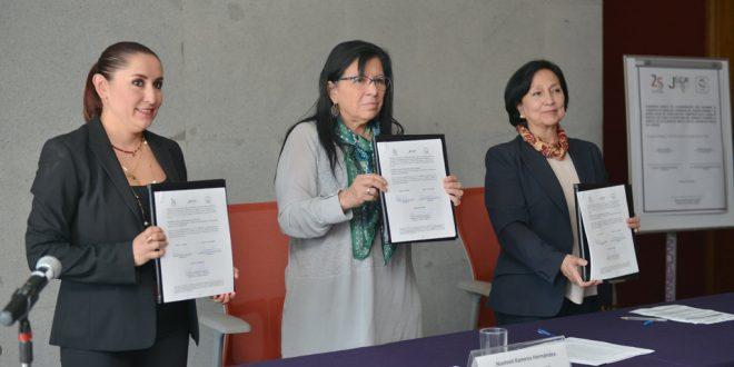 Galería: Firma de Convenio de Colaboración con JLCA CDMX