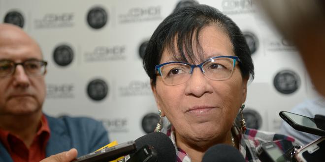 Entrevista a la Presidenta de la CDHDF, Nashieli Ramírez Hernández, al término de la firma del Convenio de Concertación entre la CEJUR y Ednica I.A.P.