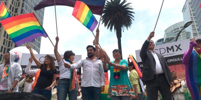 Palabras de la Presidenta de la CDHDF, Nashieli Ramírez Hernández, en la XL Marcha del Orgullo LGBTTTIQA+
