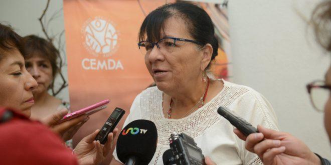 """Entrevista a la Presidenta de la CDHDF, Nashieli Ramírez Hernández, en la presentación del estudio """"Los Combustibles y la Calidad del Aire en México"""", elaborado por el Centro Mexicano de Derecho Ambiental (CEMDA)."""